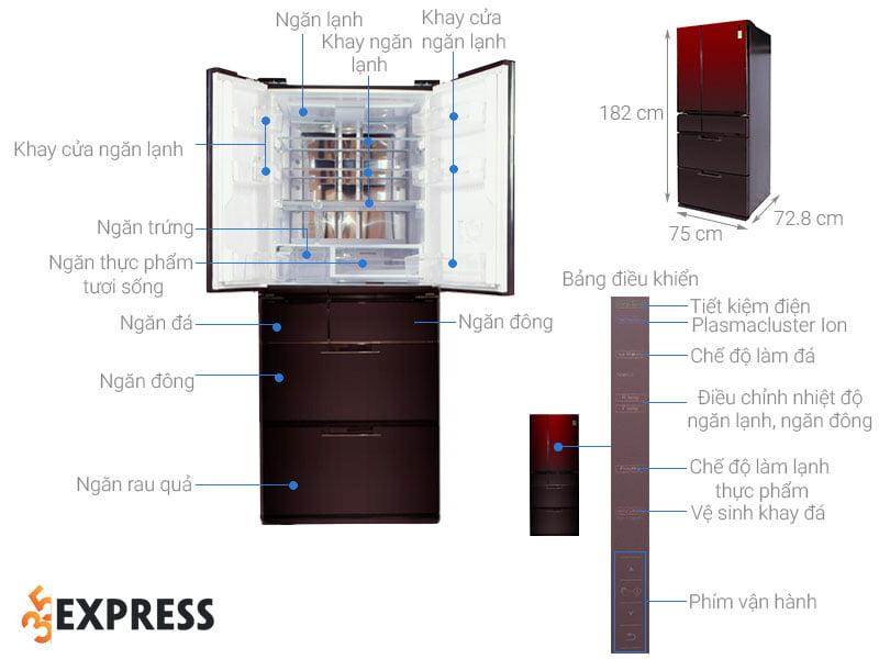 tu-lanh-2-canh-tot-nhat-2021-sharp-sj-gf60a-r-t-601-lit-35express